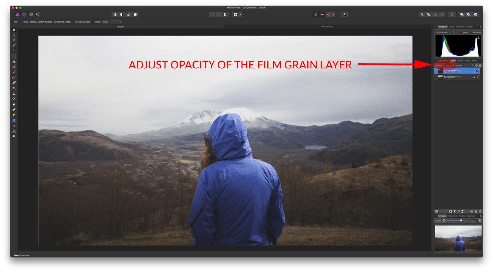 Adjust Opacity