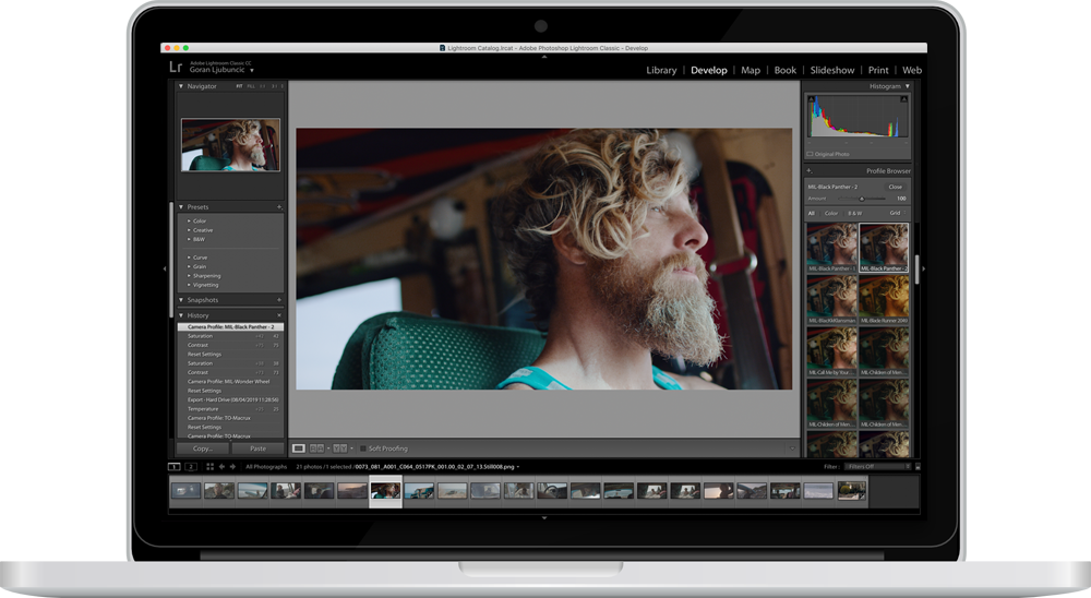 Lutify me | Color Grading LUTs for Adobe Lightroom